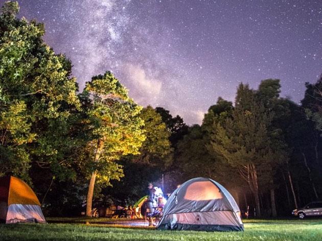 Camping in Cherrapunji, Meghalaya