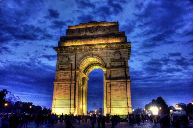 India Gate-Tourist Places in Delhi