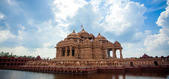Akshardham Temple-Tourist Places in Delhi