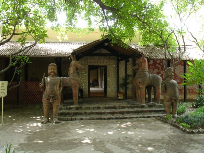 Crafts Museum-Tourist Places in Delhi