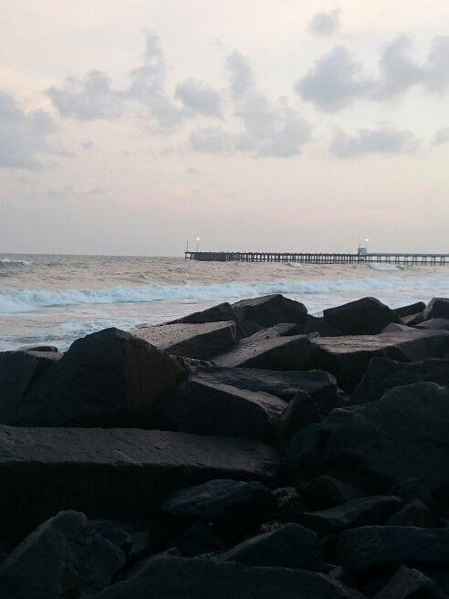 Rock Beach-Beaches in Pondicherry