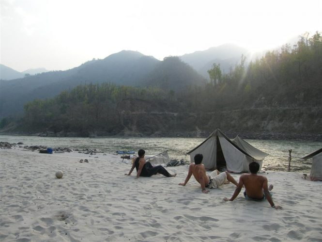 Camping and Rafting in Rishikesh- Roller Coaster Camp