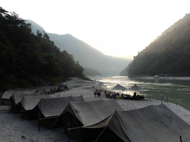Best Camps inRishikesh- Camp Ganga River