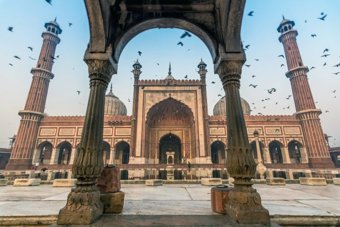 Jama Masjid-Tourist Places in Delhi