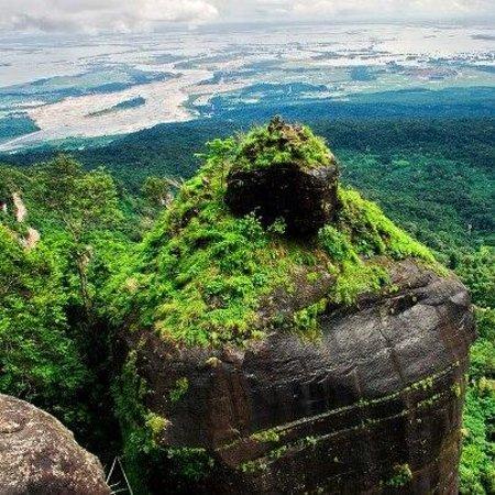 Khoh Ramhah/Pillar Rock-Living Root Bridges