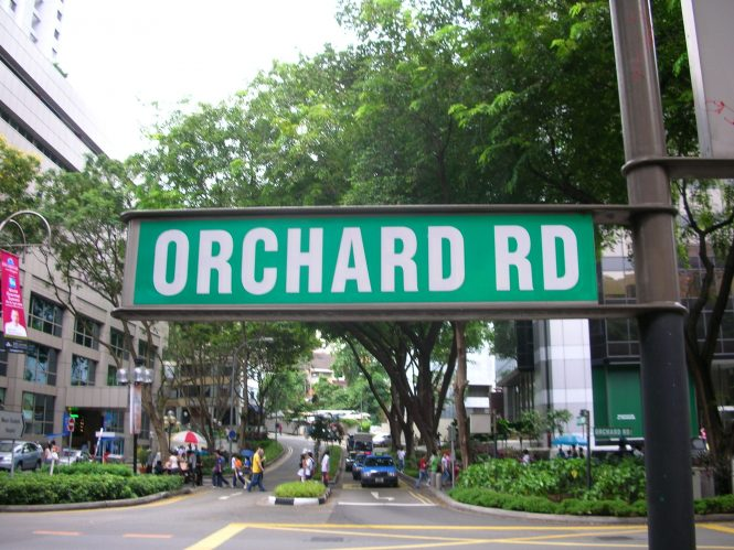 Orchard Road-Singapore Shopping