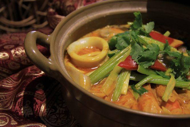 """The Curry Pot""- Indian Restaurant at Hong Kong"