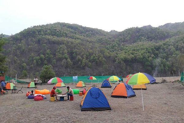 Camping-Jim Corbett National