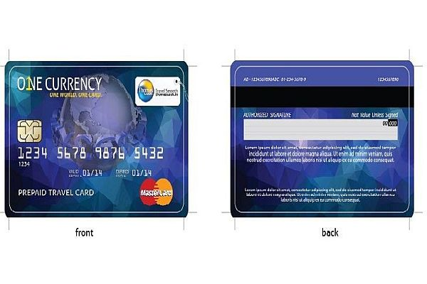 One Currency Card -Adventure Sports