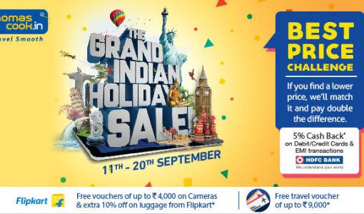 Thomas Cook Grand Indian Holiday Sale