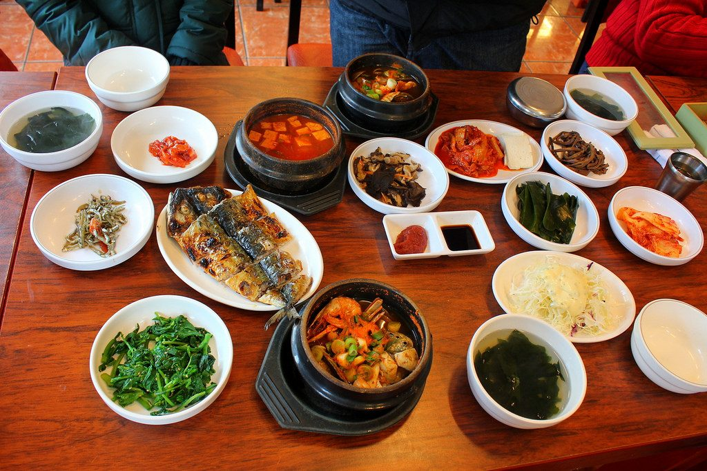 Food in Jeju Island