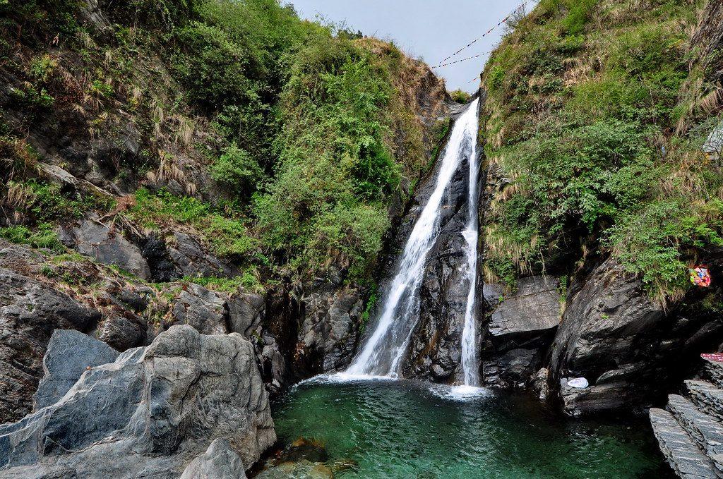 Bhagsu Waterfall -  Tourist Places in Dharamshala