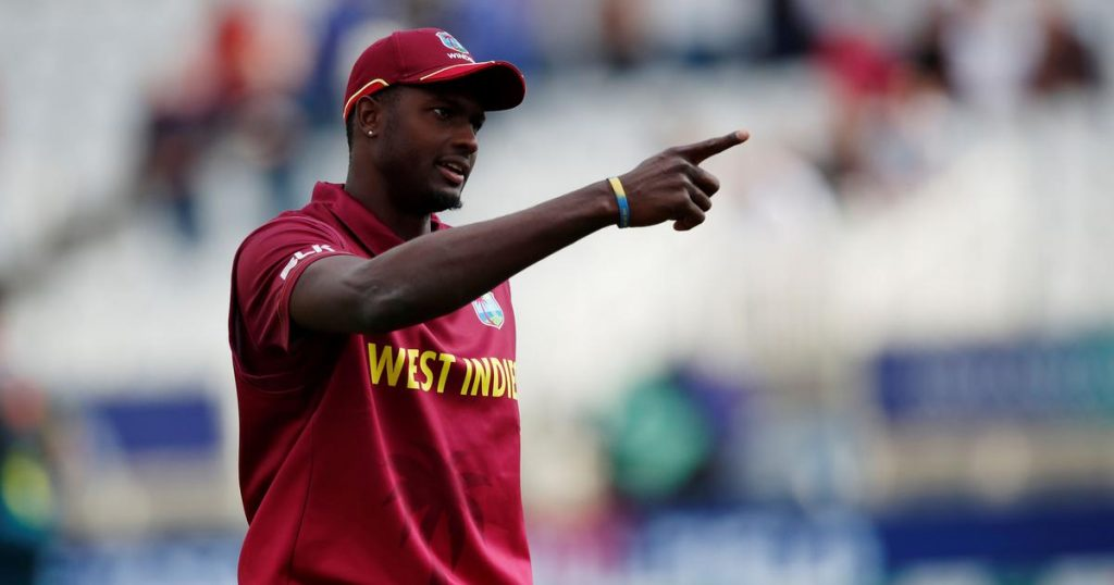 Jason Holder - West Indies