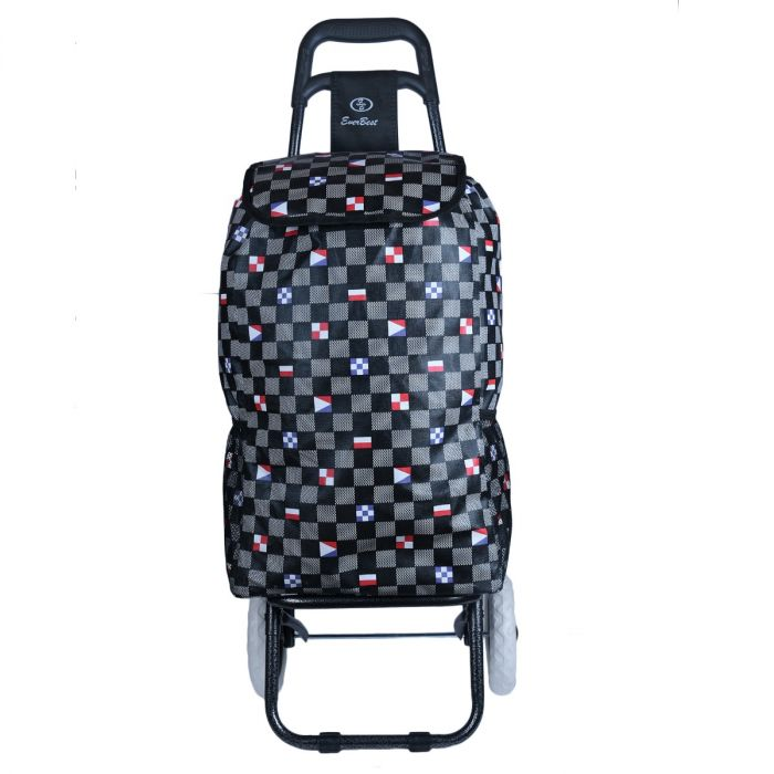 Foldable Shopping Trolley Bag - Senior Citizen Travel Accessories