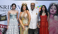 Sridevi's Daughters at Madame Tussauds in Singapore