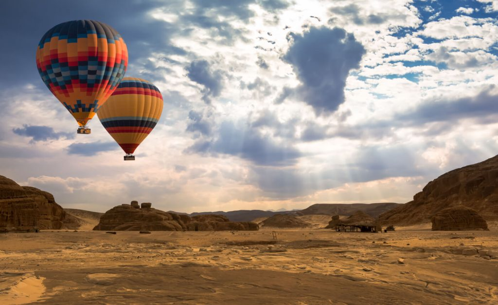 Adventure Activities in Africa - Hot Air Balloon
